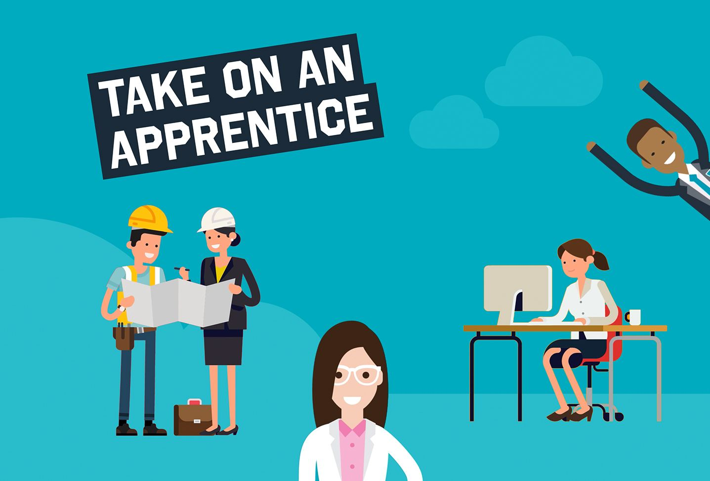 Animated video about taking on an apprentice